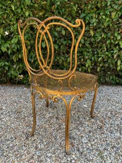 Jean Charles Moreux Jean Charles Moreux Gilt French Vanity Stool Chair - 1684628