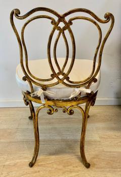 Jean Charles Moreux Jean Charles Moreux Gilt Vanity Stool - 1675374