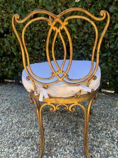 Jean Charles Moreux Jean Charles Moreux Gilt Vanity Stool - 1675375