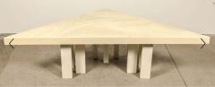 Jean Claude Dresse Modernist Triangular Coffee Table by Jean Claude Dresse - 772317