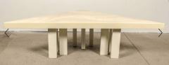 Jean Claude Dresse Modernist Triangular Coffee Table by Jean Claude Dresse - 772318