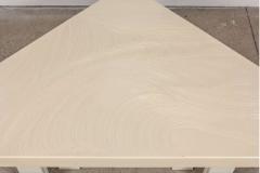 Jean Claude Dresse Modernist Triangular Coffee Table by Jean Claude Dresse - 772319