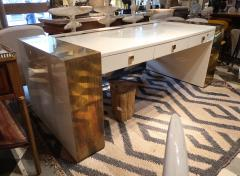 Jean Claude Mahey An impressive writing table signed by Jean Claude Mahey France 70 - 862864