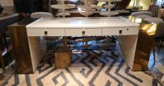 Jean Claude Mahey An impressive writing table signed by Jean Claude Mahey France 70 - 862865