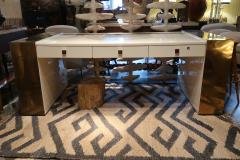 Jean Claude Mahey An impressive writing table signed by Jean Claude Mahey France 70 - 862867