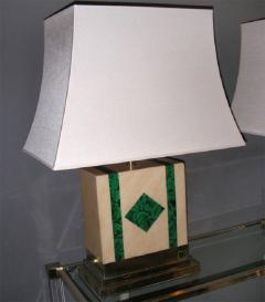 Jean Claude Mahey Two 1970s Lamps Signed by Jean Claude Mahey - 913475