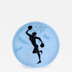Jean Cocteau Contre Jour Ceramic Plate - 1334950
