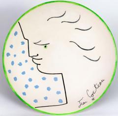 Jean Cocteau Frimas Ceramic Plate - 1333258