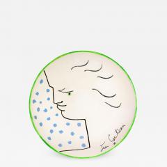 Jean Cocteau Frimas Ceramic Plate - 1334951