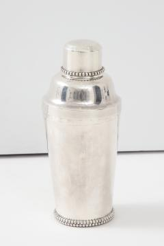 Jean Despres Jean Despr s Beaded Plated Cocktail Shaker - 1246132