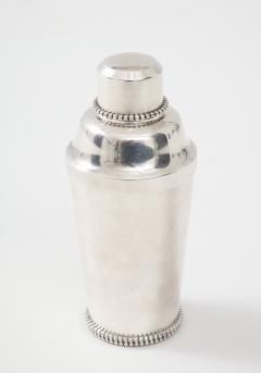 Jean Despres Jean Despr s Beaded Plated Cocktail Shaker - 1246136