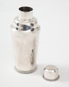 Jean Despres Jean Despr s Beaded Plated Cocktail Shaker - 1246137