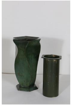 Jean Dunand Bronze Vase by Jean Dunand 1920s - 905142