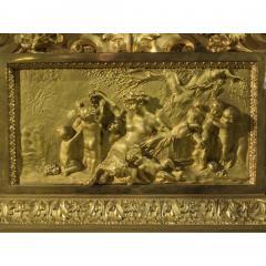Jean Fran ois Deni re A Fine Quality Napoleon III Ormolu and Patinated Bronze Figural Mantel Clock - 1435196