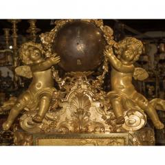 Jean Fran ois Deni re A Fine Quality Napoleon III Ormolu and Patinated Bronze Figural Mantel Clock - 1435198