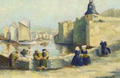Jean Gallet Concarneau Brittany France - 1448173