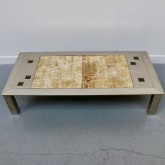 Jean Gregorieff CHROMED COFFEE TABLE - 1477498
