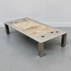 Jean Gregorieff CHROMED COFFEE TABLE - 1477502