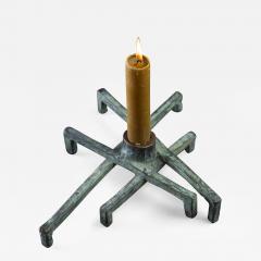 Jean Grisoni Jean Grisoni Eight Foot Bronze Santa Lucia Candle Holder - 184368