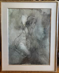 Jean Jansem Kneeling Girl - 1953513