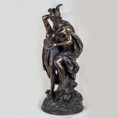 Jean L on Gr goire A Fine Quality Patinated Bronze Sculpture Depicting Perseus Freeing Andromeda - 1468589
