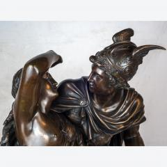 Jean L on Gr goire A Fine Quality Patinated Bronze Sculpture Depicting Perseus Freeing Andromeda - 1468590