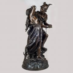 Jean L on Gr goire A Fine Quality Patinated Bronze Sculpture Depicting Perseus Freeing Andromeda - 1468594