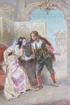 Jean Leon Gerome Ferris A Page of Love  - 1864754