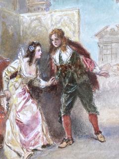 Jean Leon Gerome Ferris A Page of Love  - 1864758