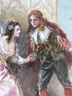 Jean Leon Gerome Ferris A Page of Love  - 1864759
