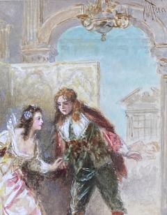 Jean Leon Gerome Ferris A Page of Love  - 1864760