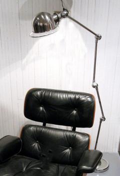 Jean Louis Domecq Articulated Chrome Floor Lamp Jean Louis Domecq Jielde Lyon - 72365