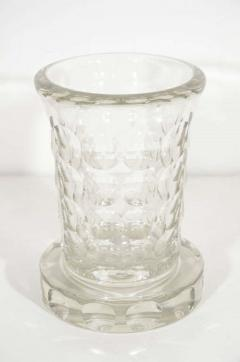 Jean Luce Rare and Refined Art Deco Crystal Vase by Jean Luce French circa 1930 - 1560712