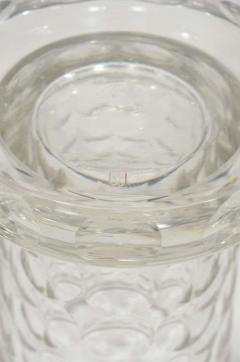 Jean Luce Rare and Refined Art Deco Crystal Vase by Jean Luce French circa 1930 - 1560713