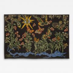 Jean Lurc at Amazing Wool Tapestry by Jean Lur at Black Cotonou Tabard Fr res et Soeurs - 2131716