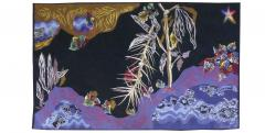 Jean Lurc at Jean Lur at Tapestry Eaux noires woven by the Goubely workshop signed - 1433021