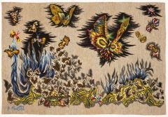 Jean Lurc at Tapisserie de Jean Lur at P ques 1962 Atelier Goubely - 2129623