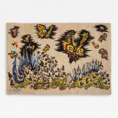 Jean Lurc at Tapisserie de Jean Lur at P ques 1962 Atelier Goubely - 2131705