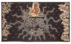 Jean Lurcat Amazing Tapestry by Jean Lur at Midnight Sun Soleil de Minuit wool France - 2129539