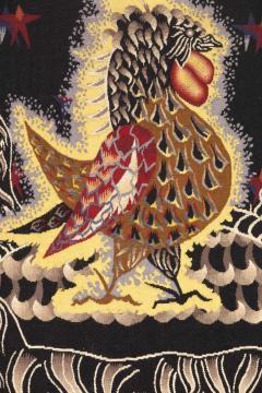 Jean Lurcat Amazing Tapestry by Jean Lur at Midnight Sun Soleil de Minuit wool France - 2129541