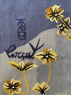 Jean Lurcat Aubusson Tapestry by Jean Lur at Moth Woven in the TABARD Workshop - 1297063