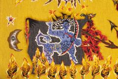 Jean Lurcat Sublime Tapestry by Jean Lur at Ao t atelier Suzanne Goubely Gatien Aubusson - 2040083