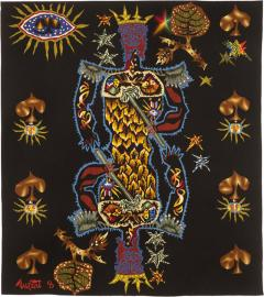 Jean Lurcat Tapestry by Jean Lur at King of Spades Perfect Condition - 2131704