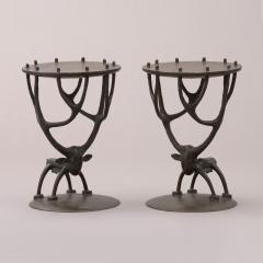 Jean Marie Fiori Deer Side Tables - 1170442