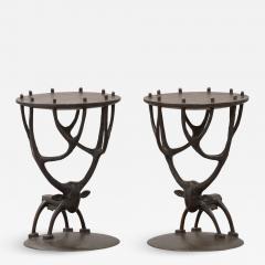 Jean Marie Fiori Deer Side Tables - 1171362