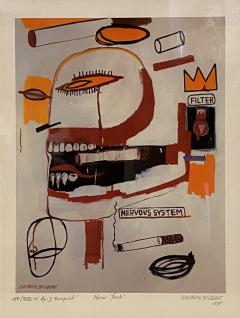 Jean Michel Basquiat Americn Abstract Expressionist Lithograph Untitled XVl Jean Michel Basquiat - 1933006