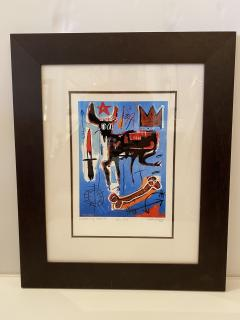 Jean Michel Basquiat Americn Abstract Expressionist Lithograph Untitled Xl Jean michel Basquiat - 1886808