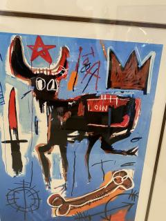 Jean Michel Basquiat Americn Abstract Expressionist Lithograph Untitled Xl Jean michel Basquiat - 1886809