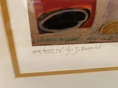 Jean Michel Basquiat Americn Abstract Expressionist Lithograph Untitled Xll Jean Michel Basquiat - 1886796