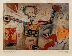 Jean Michel Basquiat Americn Abstract Expressionist Lithograph Untitled Xll Jean Michel Basquiat - 1933008